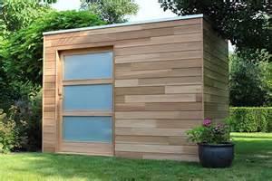 les abris de jardin modernes de woodstar houten