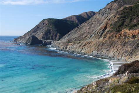 Pch Drive - big creek bridge vista point a beautiful marked scenic vista point pullout with a