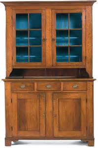 Cupboard In American One 19th C American Chippendale Pennsylvania