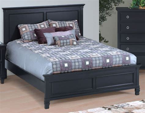 Black California King Platform Bed Tamarack Black Cal King Platform Bed