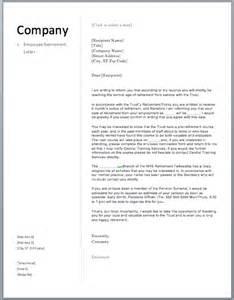 Certification Letter For Retirement Sample Retirement Letter Free Sample Letters
