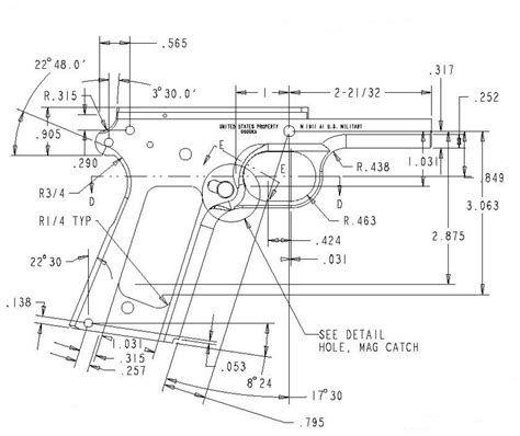 a frame blueprints blueprints 1911 frame detail drawings 11pp