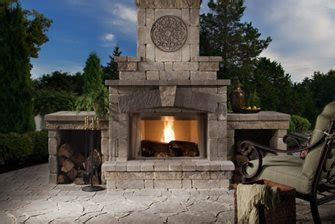 Brighton And Fireplace by Belgard Elements Collections Landscaping Network