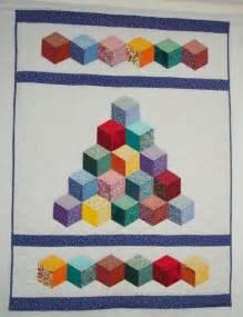 baby tumbling blocks quilt pattern