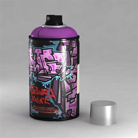 spray painting 3ds xl 3d graffiti spray model