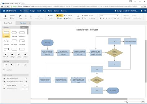 flowchart cloud smartdraw cloud offers unmatched power for visual