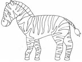Zebra Outline Coloring Page by Coloring Pages Of Zebra Print For Coloring Point