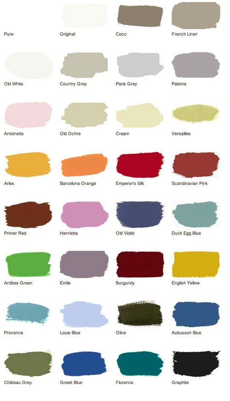 chalk paint colors canada 17 best images about sloan color recipes on