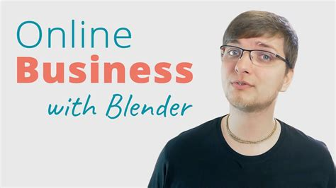 tutorial online business running an online business with blender training youtube