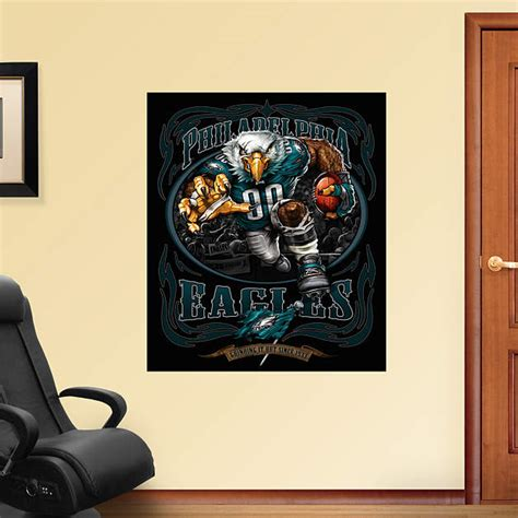 eagle it out mural fathead wall decal