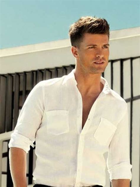a short blonde hairstyle from the 2015 mens collection 30 cool mens short hairstyles 2014 2015 mens