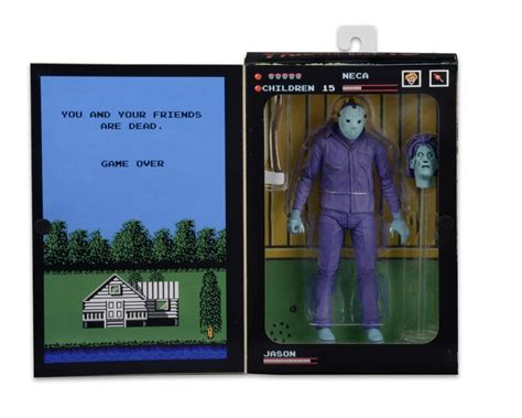 theme music action friday the 13th 7 quot figure classic video game jason