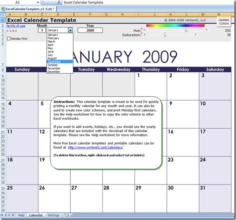 how to make your own calendar in excel quickly make your own free calendar