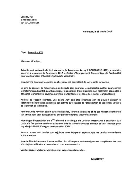 Lettre De Motivation Et De Recommandation Rtf Lettre De Motivation A Telecharger