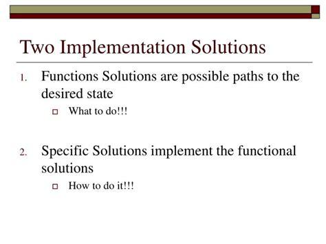 Duncker Diagram Problem Solving