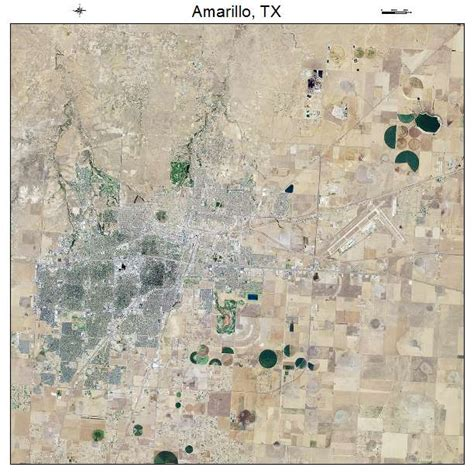 map amarillo texas aerial photography map of amarillo tx texas