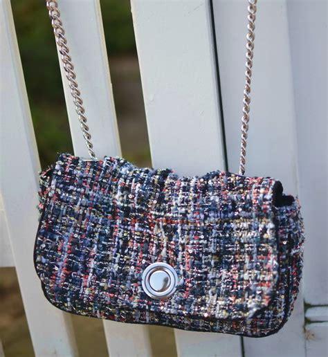 Zara Backpack Tweed bags romantique and rebel
