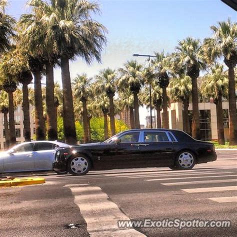 rolls royce phantom spotted in las vegas nevada on 06 18 2013