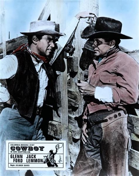 cowboy film jack lemmon 1000 images about glenn ford on pinterest ford rita