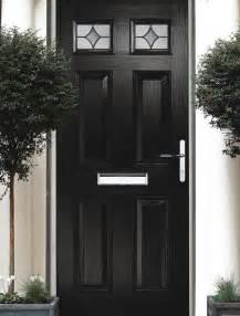 Front Door Black Black Front Doors Adoored Composite Doors