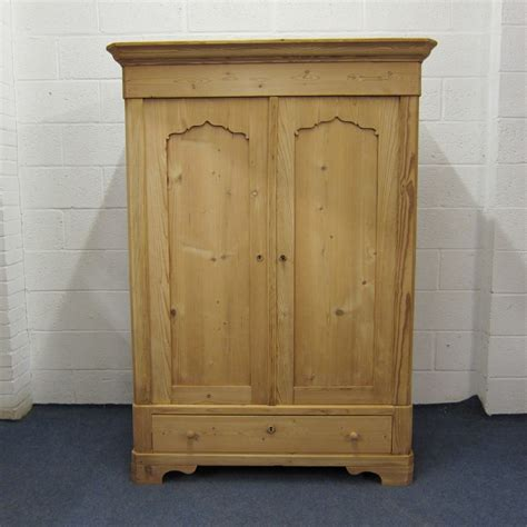 Pine Wardrobe by Small Antique Pine Wardrobe Which Dismantles 281966
