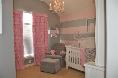 striped rooms love but with purple instead of pink project nursery