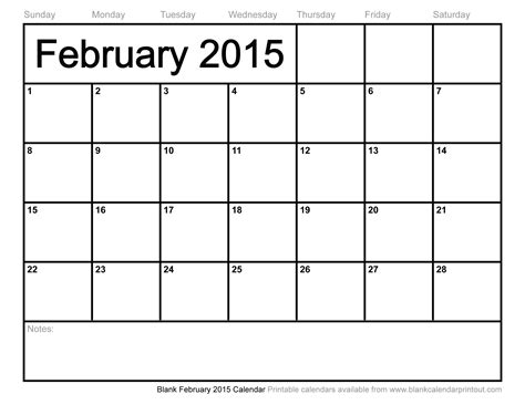 Calendar Of February 2015 Month Of February Calendar 2015 Www Pixshark