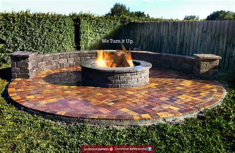 Fire Pit And Grill Combination - a few cheap ways to upgrade your outdoor space outdoor impressions it all starts with design