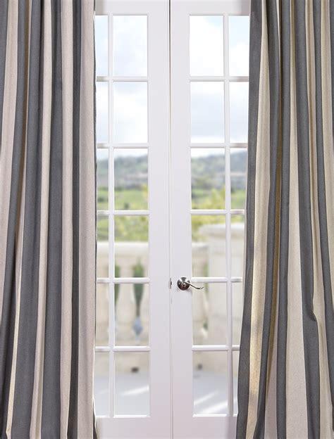 bellagio linen curtains bellagio linen drapes color block drapery panel in ivory