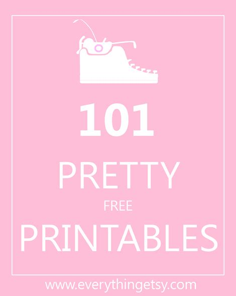printable quotes on etsy 101 pretty printables free