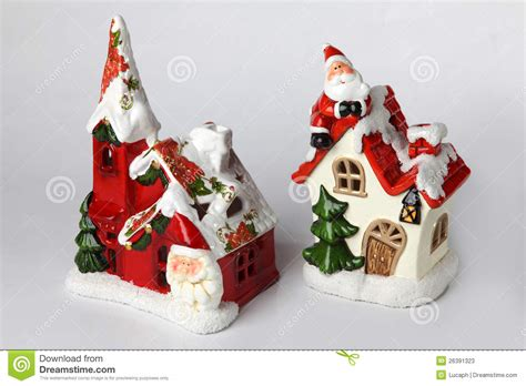 candle holders for christmas 3 stock image image 26391323