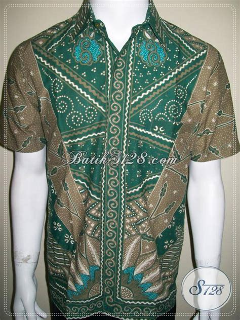 Kemeja Batik Sogan Milo batik tulis milo kemeja batik motif depan belakang beda mewah berkelas ld318t m toko batik