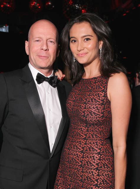 Bruce Willis Dating 23 Year Playmate Model by Willis Talks Renewing Vows With Husband Bruce