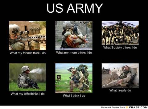 Military Wives Meme - what i do meme army