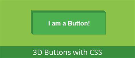 css tutorial little web hut 3d buttons with css dropshadow and transitions