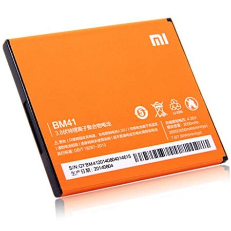 Replacement Battery For Xiaomi Redmi Hongmi 1 1s 2100mah Black ori xiaomi redmi note 1s 2 2s 3 4 4i end 5 12 2018 5 22 pm