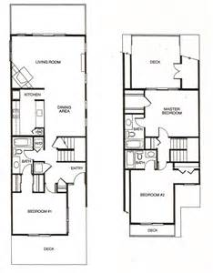 Townhome Floorplans 3 Bedroom Townhouse Floor Plans Viewing Gallery