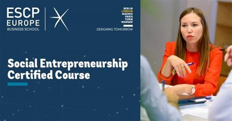 Mba Social Entrepreneurship Europe by Social Entrepreneur Business Enterprise Community I