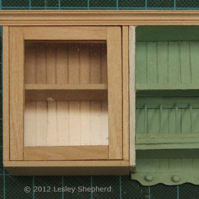 dollhouse kitchen cabinets make glass front upper kitchen cabinets for the dollhouse