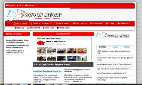 php mysql templates template portal news version php mysql free