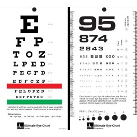 printable pocket eye chart 6 best images of pocket size snellen chart printable