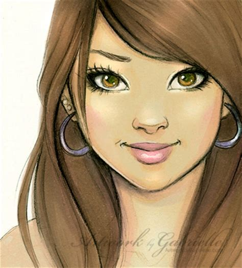 pretty girl face drawing sketchbook drawing by gabbyd70 on deviantart