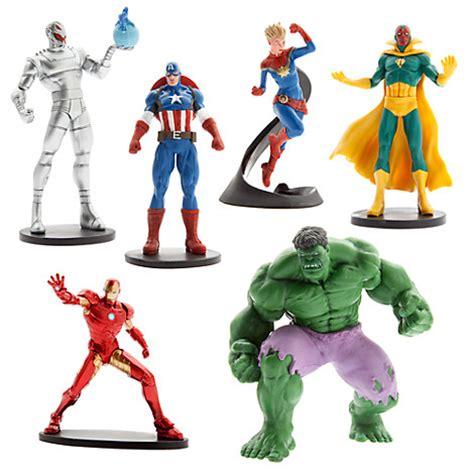 Pajangan Figure Marvel Set 6 the figure play set figure sets disney store