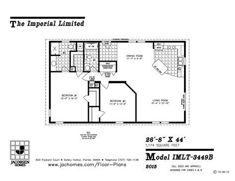 imlt 46412b mobile home floor plan ocala custom homes imlt 3449b mobile home floor plan ocala custom homes