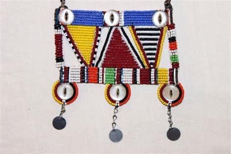 bead merchants of africa maasai masai bead necklace pendant kenya 34
