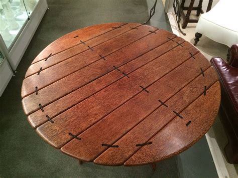palm woodwork palm wood dining table at 1stdibs