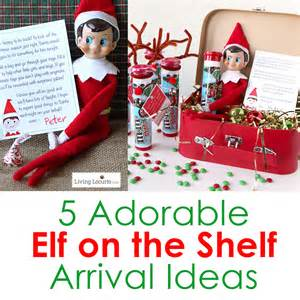 5 adorable on the shelf arrival ideas living locurto