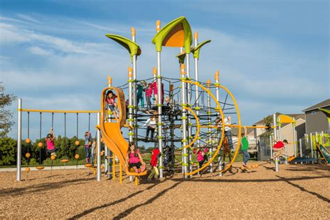 Landscape Structures Netplex Playground Equipment Recwest Outdoor Products