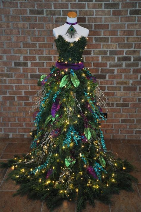 christmas tree dress victoria b