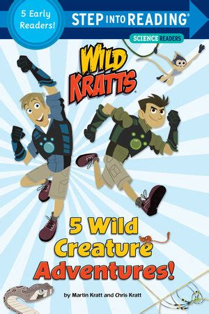 fliers kratts step into reading books step into reading 5 creature adventures kratts